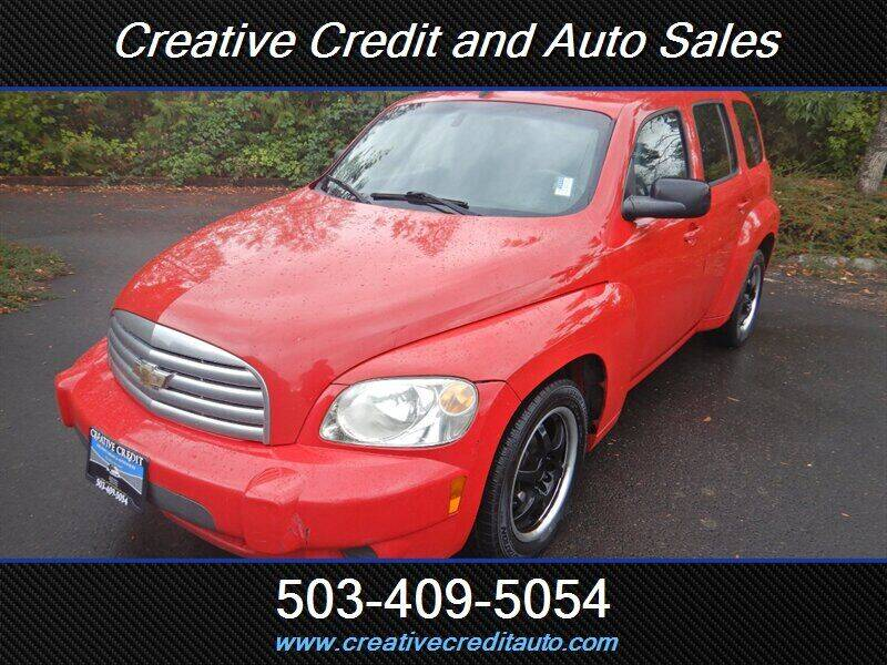 2010 Chevrolet HHR for sale at Creative Credit & Auto Sales in Salem OR