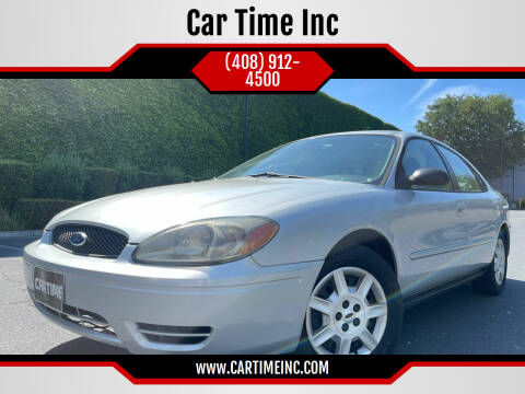 2007 Ford Taurus for sale at Car Time Inc in San Jose CA