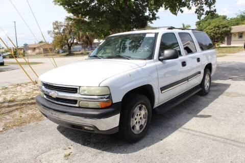 2004 Chevrolet Suburban for sale at Goval Auto Sales in Pompano Beach FL