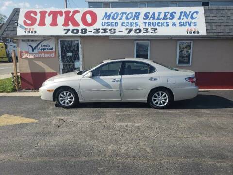 2004 Lexus ES 330 for sale at SITKO MOTOR SALES INC in Cedar Lake IN