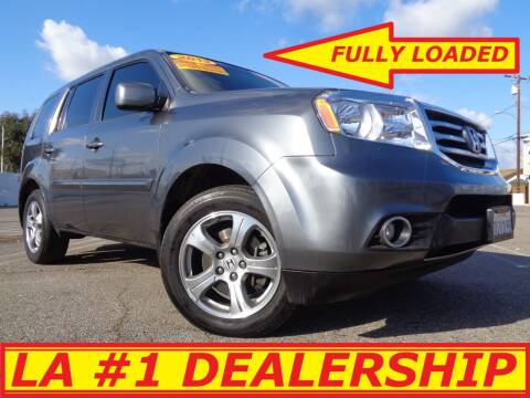 2013 Honda Pilot for sale at ALL STAR TRUCKS INC in Los Angeles CA