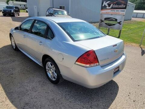 2011 Chevrolet Impala for sale at KJ Automotive in Worthing SD