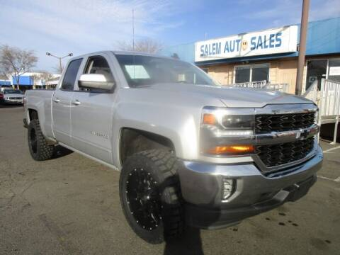 2018 Chevrolet Silverado 1500 for sale at Salem Auto Sales in Sacramento CA