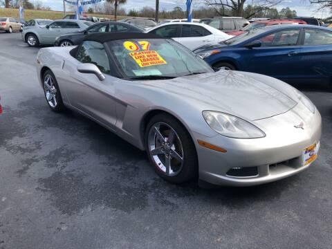 2007 Chevrolet Corvette for sale at Smith Motor Company INC in Mc Cormick SC