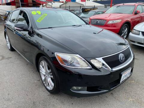 2009 Lexus GS 450h for sale at North County Auto in Oceanside CA