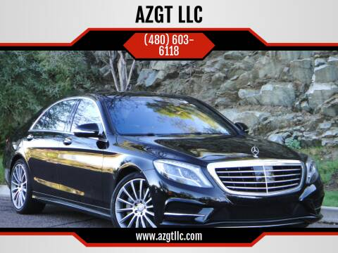 2016 Mercedes-Benz S-Class for sale at AZGT LLC in Mesa AZ