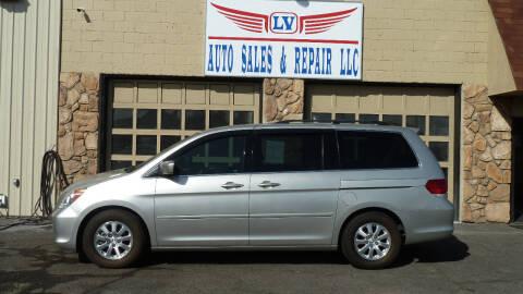 2008 Honda Odyssey for sale at LV Auto Sales & Repair, LLC in Yakima WA