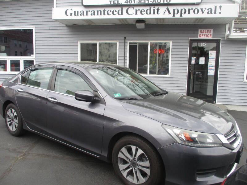 2015 Honda Accord for sale at Gold Star Auto Sales in Johnston RI