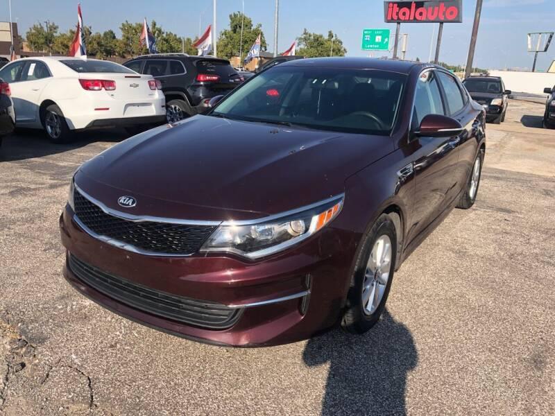 2018 Kia Optima for sale at Ital Auto in Oklahoma City OK