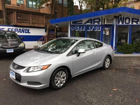2012 Honda Civic for sale at Car World Inc in Arlington VA