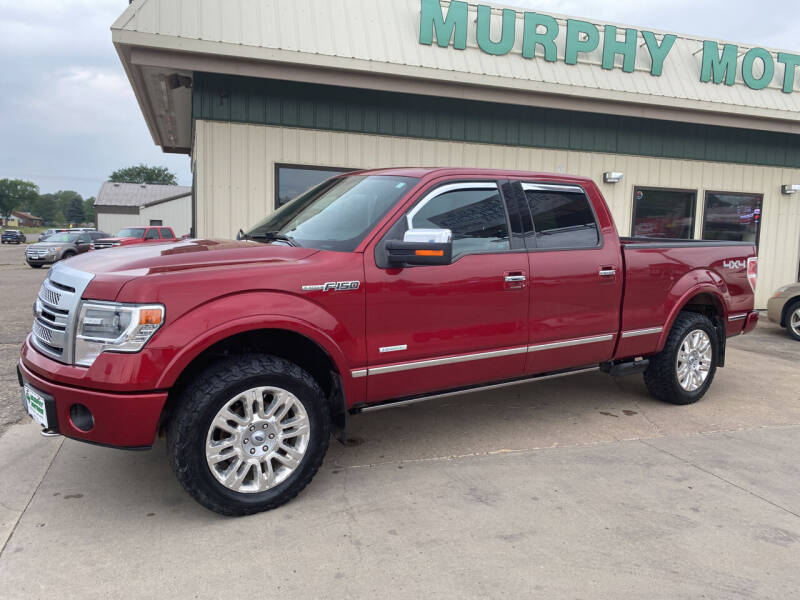 2013 Ford F-150 for sale at Murphy Motors Next To New Minot in Minot ND