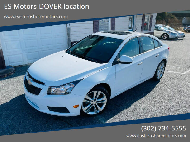 2011 Chevrolet Cruze for sale at ES Motors-DAGSBORO location - Dover in Dover DE