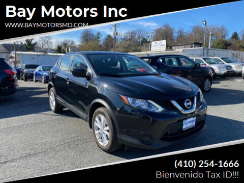 2017 Nissan Rogue Sport for sale at Bay Motors Inc in Baltimore MD