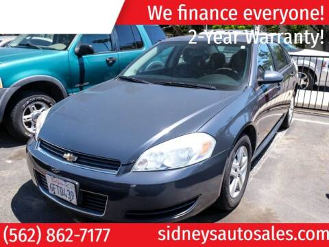 2009 Chevrolet Impala for sale at Sidney Auto Sales in Downey CA