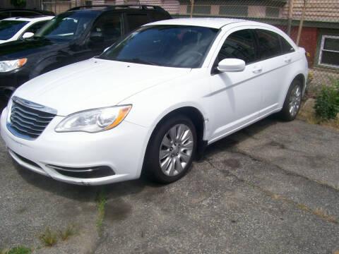2013 Chrysler 200 for sale at Dambra Auto Sales in Providence RI