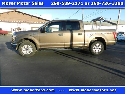 2015 Ford F-150 for sale at Moser Motors Of Portland in Portland IN