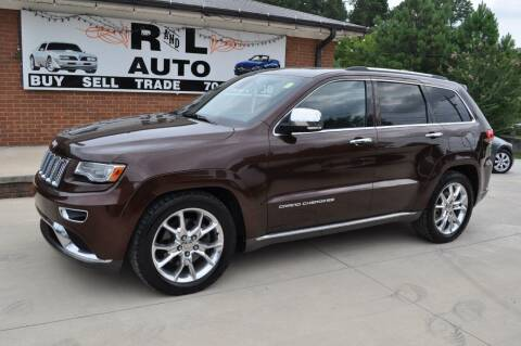 2014 Jeep Grand Cherokee for sale at R & L Autos in Salisbury NC