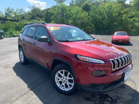 2016 Jeep Cherokee for sale at Bob Karl's Sales & Service in Troy NY
