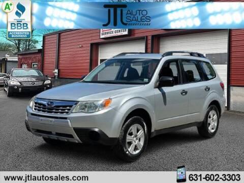 2011 Subaru Forester for sale at JTL Auto Inc in Selden NY