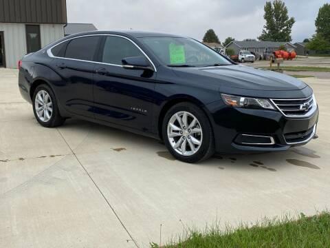 2017 Chevrolet Impala for sale at GLIDDEN CAR CORNER in Glidden IA