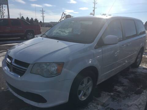 2012 Dodge Grand Caravan for sale at BARNES AUTO SALES in Mandan ND