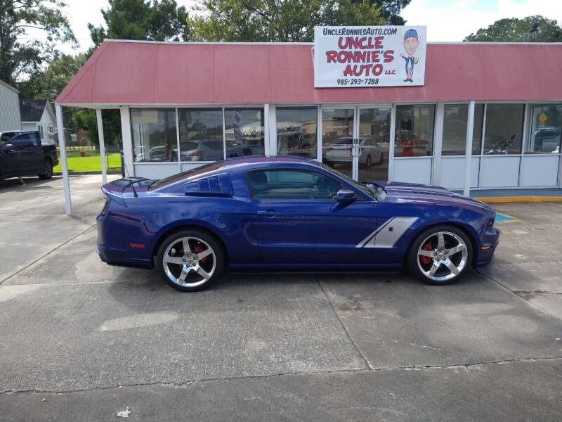 2014 Ford Mustang for sale at Uncle Ronnie's Auto LLC in Houma LA