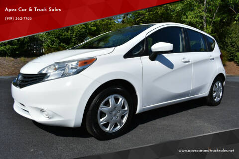 2016 Nissan Versa Note for sale at Apex Car & Truck Sales in Apex NC