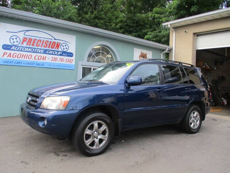 2007 Toyota Highlander for sale at Precision Automotive Group in Youngstown OH