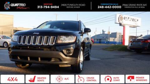 2016 Jeep Compass for sale at Quattro Motors 2 in Farmington Hills MI