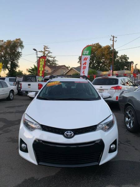 2016 Toyota Corolla for sale at Victory Auto Sales in Stockton CA