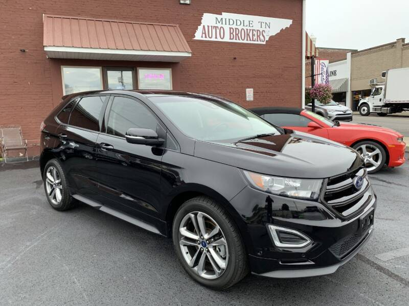 2017 Ford Edge for sale at Middle Tennessee Auto Brokers LLC in Gallatin TN