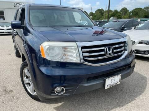 2012 Honda Pilot for sale at KAYALAR MOTORS in Houston TX