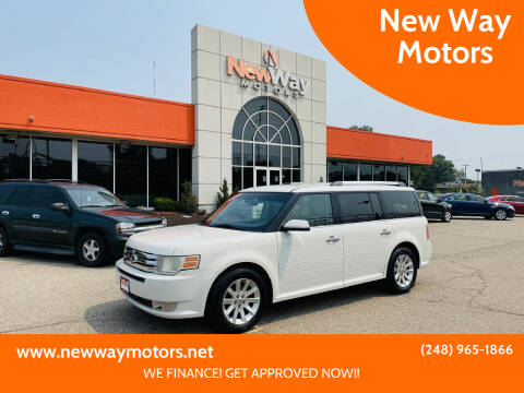 2009 Ford Flex for sale at New Way Motors in Ferndale MI