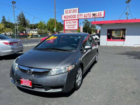 2010 Honda Civic for sale at Redwood City Auto Sales in Redwood City CA