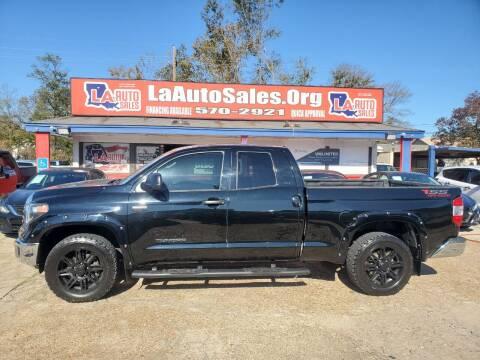 2018 Toyota Tundra for sale at LA Auto Sales in Monroe LA