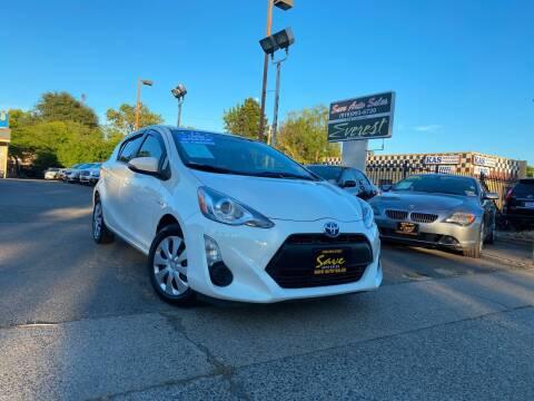 2015 Toyota Prius c for sale at Save Auto Sales in Sacramento CA