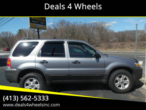 2007 Ford Escape for sale at Deals 4 Wheels in Westfield MA