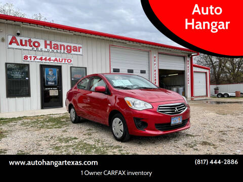 2018 Mitsubishi Mirage G4 for sale at Auto Hangar in Azle TX