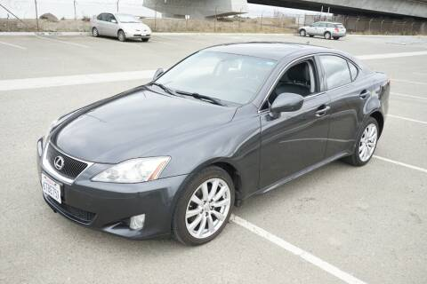 2007 Lexus IS 250 for sale at Sports Plus Motor Group LLC in Sunnyvale CA