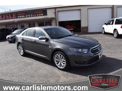 2017 Ford Taurus for sale at Carlisle Motors in Lubbock TX