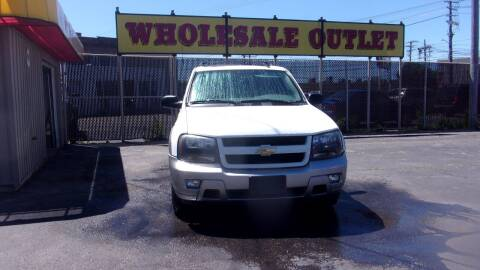 2008 Chevrolet TrailBlazer for sale at LONG BROTHERS CAR COMPANY in Cleveland OH