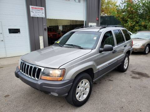 2001 Jeep Grand Cherokee for sale at MX Motors LLC in Ashland MA