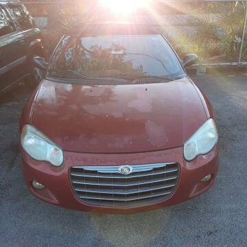 2005 Chrysler Sebring for sale at Easy Credit Auto Sales in Cocoa FL