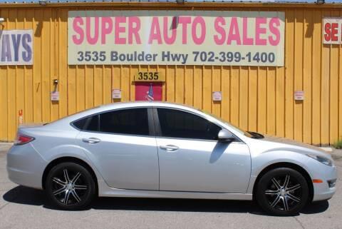 2012 Mazda MAZDA6 for sale at Super Auto Sales in Las Vegas NV