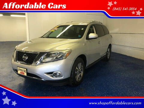 2013 Nissan Pathfinder for sale at Affordable Cars in Kingston NY