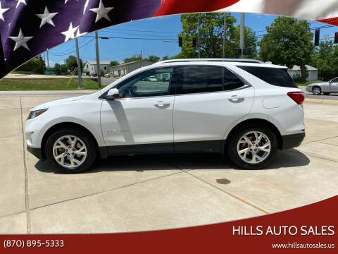 2018 Chevrolet Equinox for sale at Hills Auto Sales in Salem AR