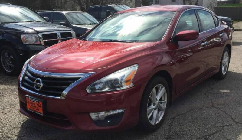 2013 Nissan Altima for sale at Knowlton Motors, Inc. in Freeport IL