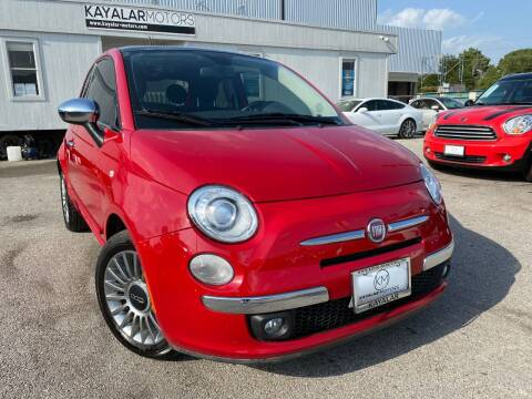 2012 FIAT 500 for sale at KAYALAR MOTORS - ECUFAST HOUSTON in Houston TX