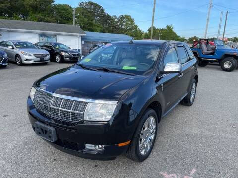 2010 Lincoln MKX for sale at U FIRST AUTO SALES LLC in East Wareham MA
