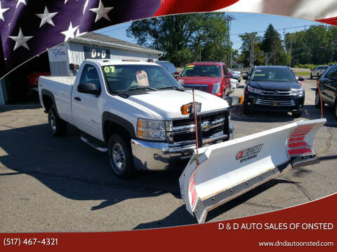 2007 Chevrolet Silverado 2500HD for sale at D & D Auto Sales Of Onsted in Onsted   Brooklyn MI
